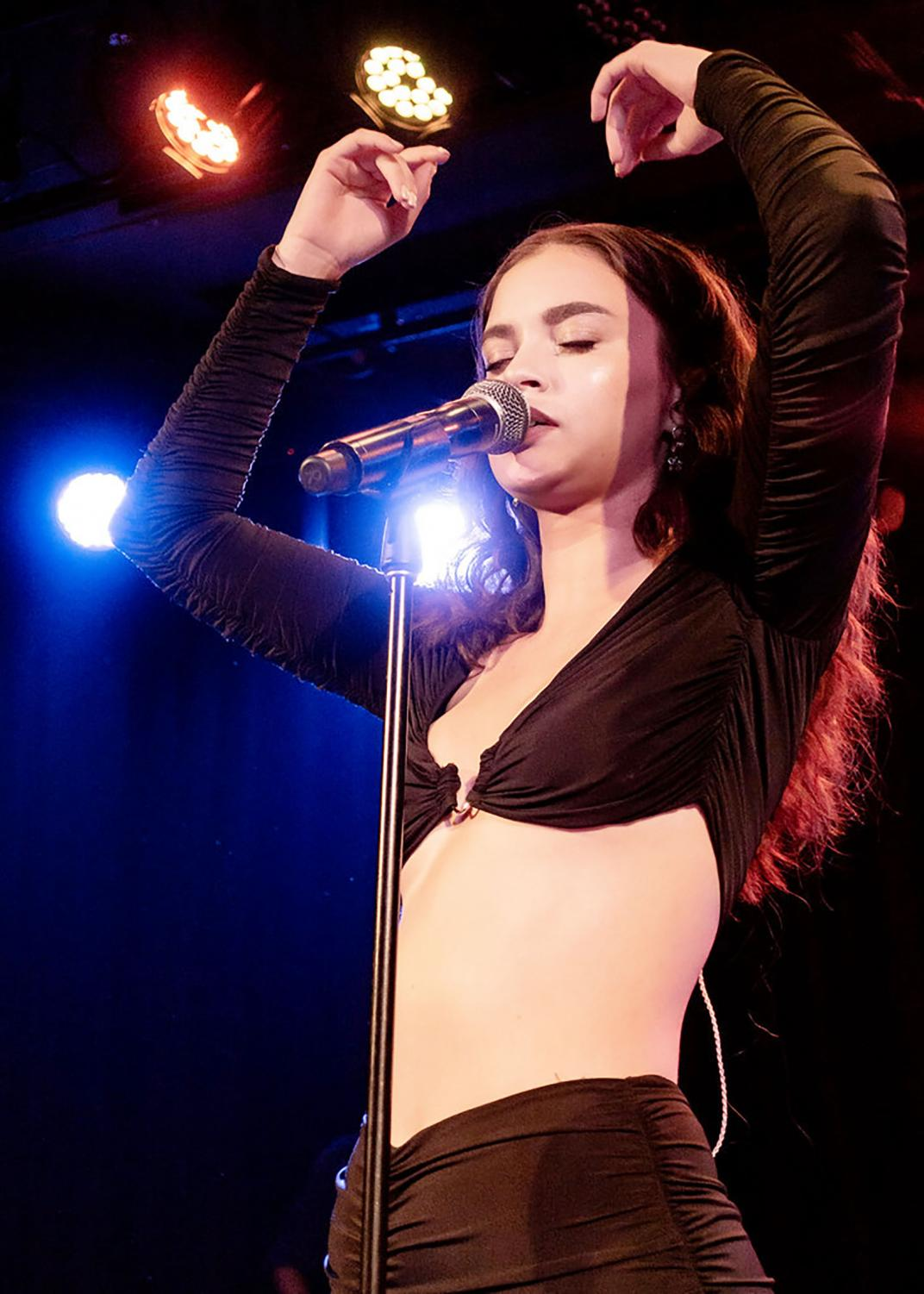 Sabrina Claudio at the Roxy.