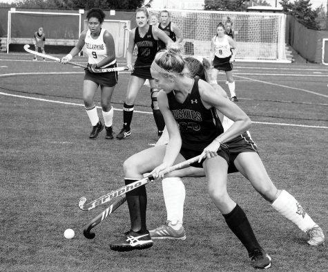 Women's Lacrosse downs Shippensburg: Jaskuta nets four goals as Huskies defeat Red Raiders 9-6