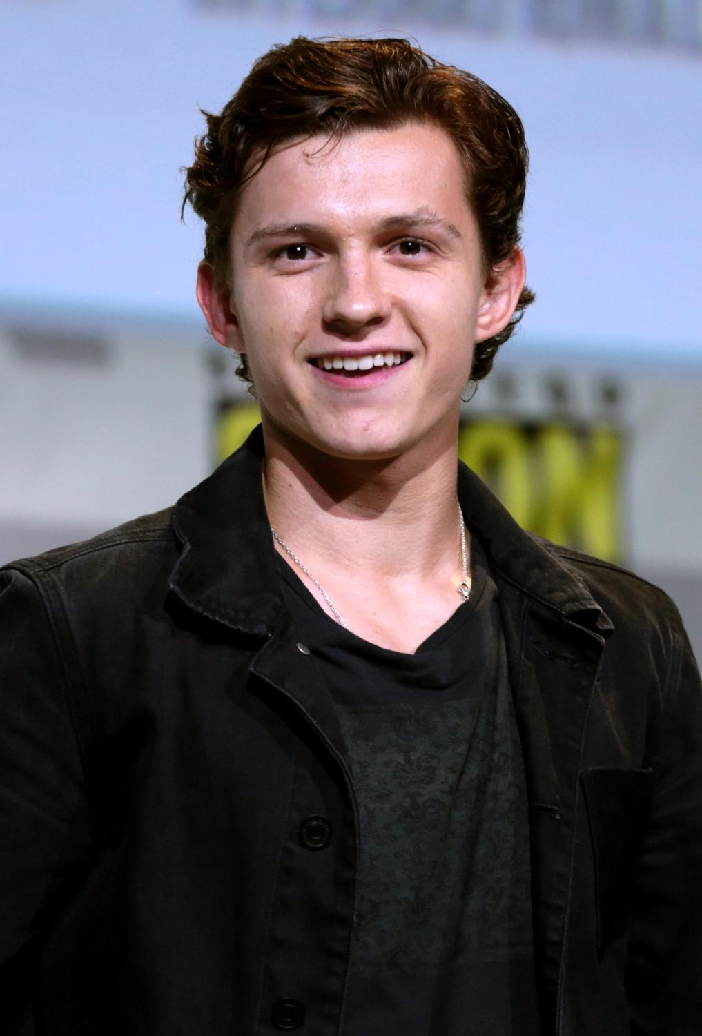 Tom Holland, current Spiderman, at Comic-Con.