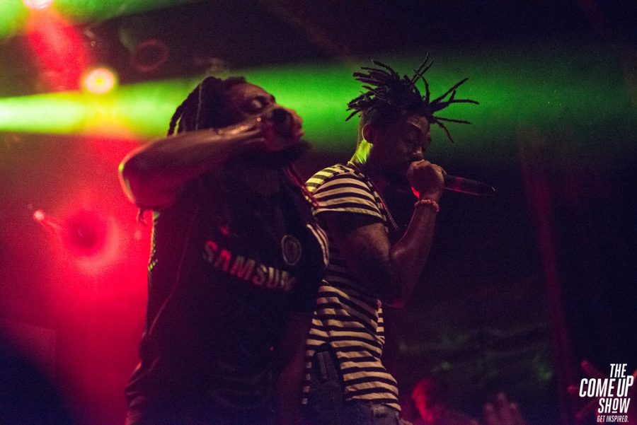 WowGr8 and Johnny Venus are the artists behind the hip-hop duo EarthGang.