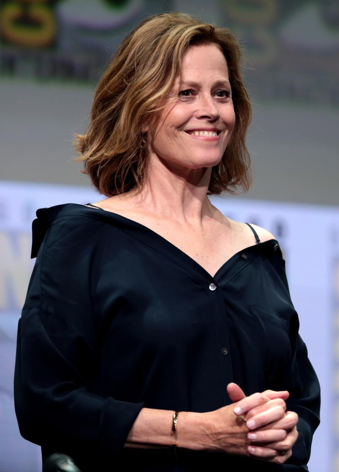 Sigourney Weaver, prtrayed Ellen Ripley, who is to this date one of the most bad ass characters in sci-fy.