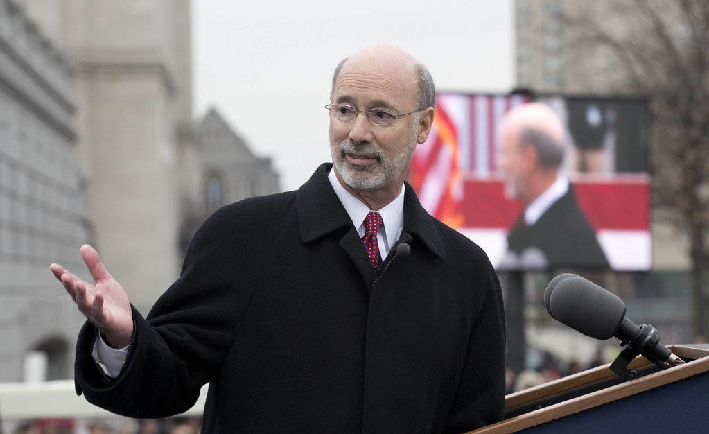 Pennsylvania Governor, Tom Wolf.