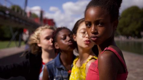 "The French film ""Cuties"" has gained world-wide media attention for portraying young girls in a mature way."