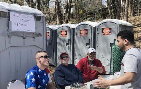 Porta Potties make money for Bloomsburg park