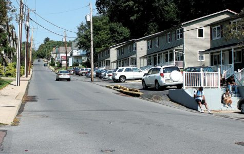 The 200 block of Glenn Avenue, where the incident on Aug. 31 took place.