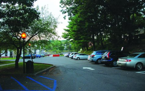 Old Science Hall's parking lot was a beneficiary of the parking pass funds last semester, receiving enough money to allow for major pot hole repairs.