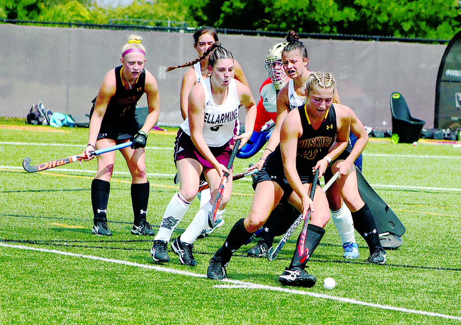 The+Bloomsburg+University++field+hockey+team+is+now+0-2+after+two+opening+losses+to+start+the+2019+season.