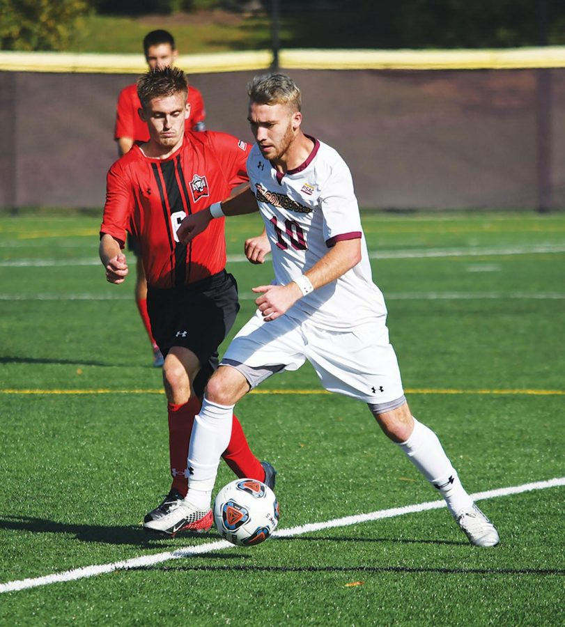 Senior Tyler Madeira (above) has recorded six goals and an assist thus far this season.