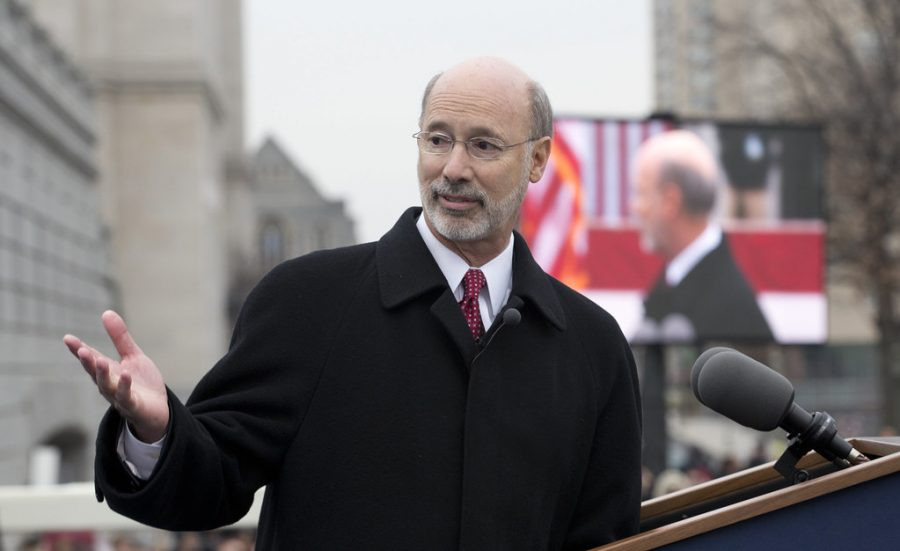 Pennsylvania Governor, Tom Wolf.