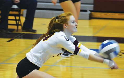 Volleyball sweeps Lock Haven on Tuesday