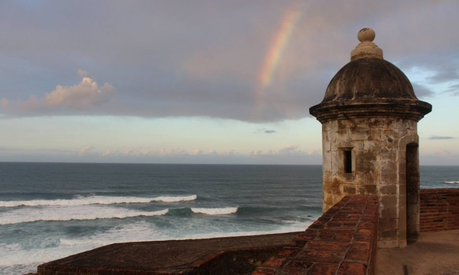 This+photo+is+of+Old+San+Juan+in+Puerto+Rico.+It+is+one+of+the+possible+destinations+you+can+go+to+for+a+decent+price.+