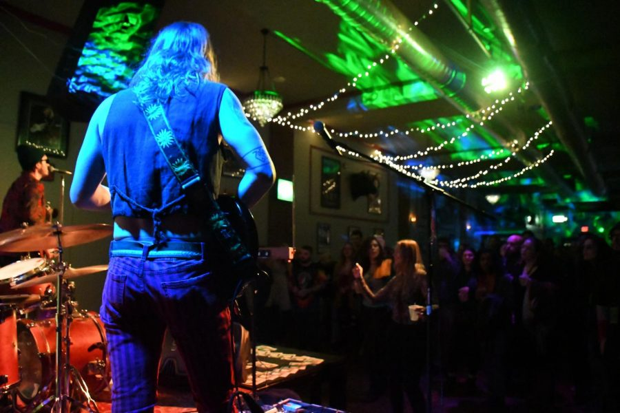 The Study was packed to the brink last Saturday to see Mystery Fyre and Medusa's Disco.